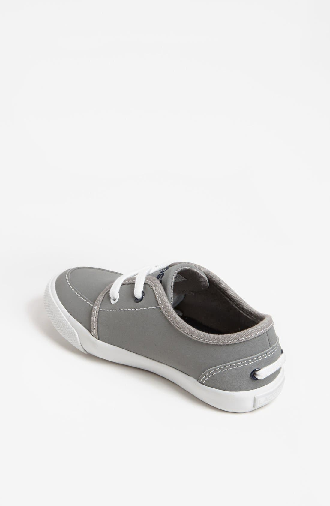 Alternate Image 2  - Lacoste 'Boat DE' Sneaker (Toddler)