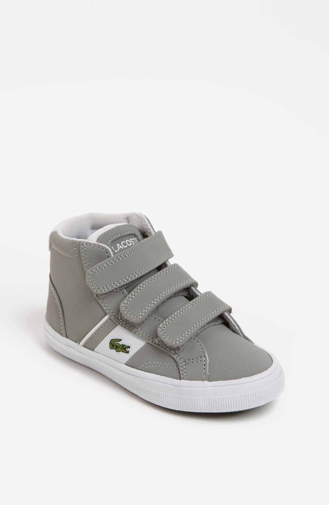 Alternate Image 1 Selected - Lacoste 'Fairlead' Mid Sneaker (Toddler)