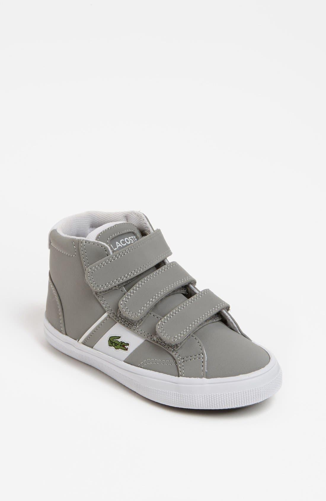Main Image - Lacoste 'Fairlead' Mid Sneaker (Toddler)