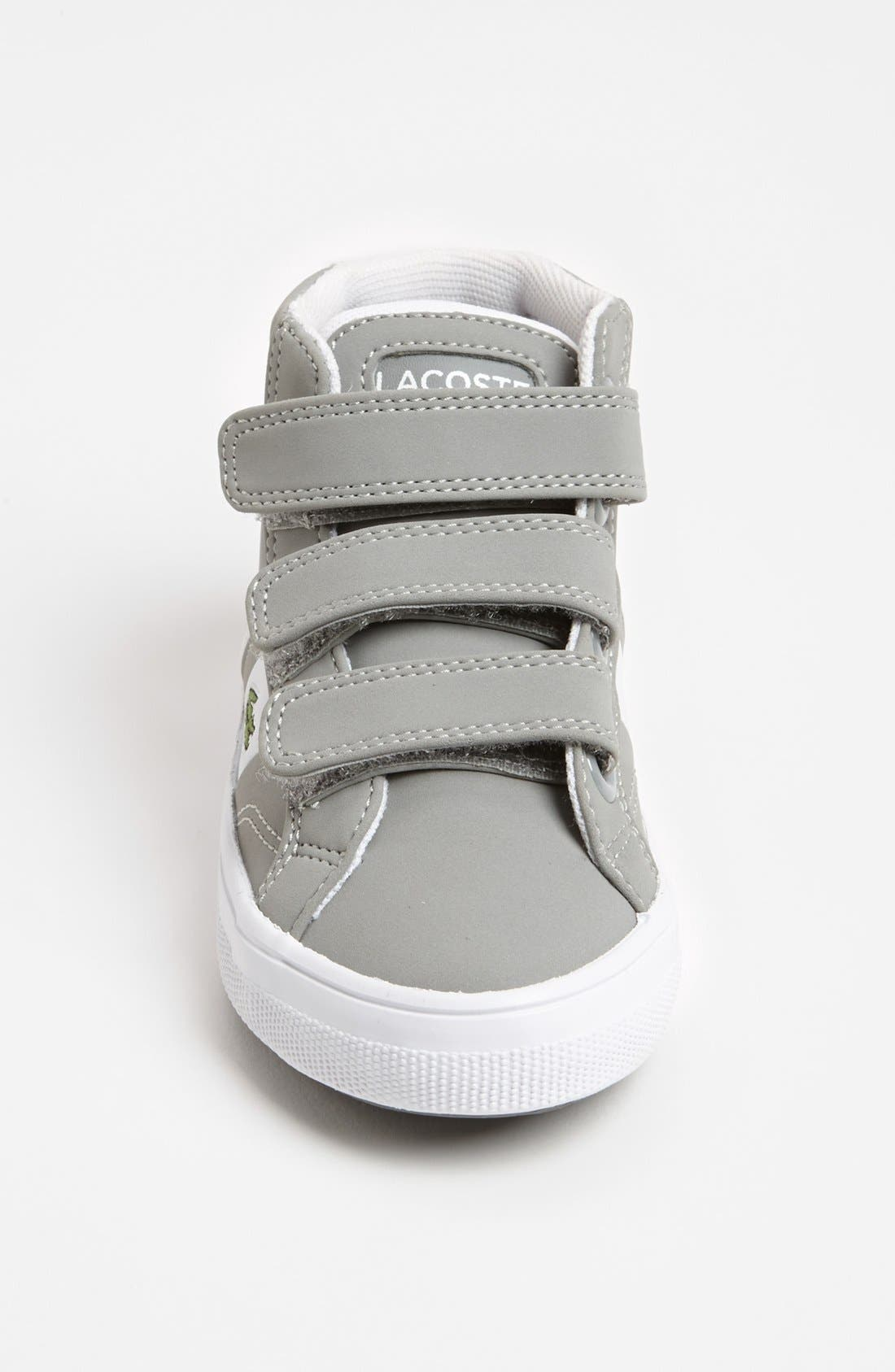 Alternate Image 3  - Lacoste 'Fairlead' Mid Sneaker (Toddler)