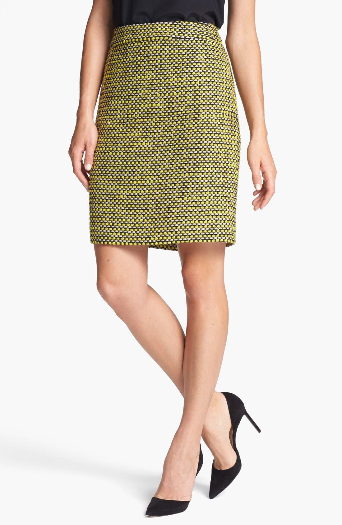 Main Image - kate spade new york 'judy' tweed skirt