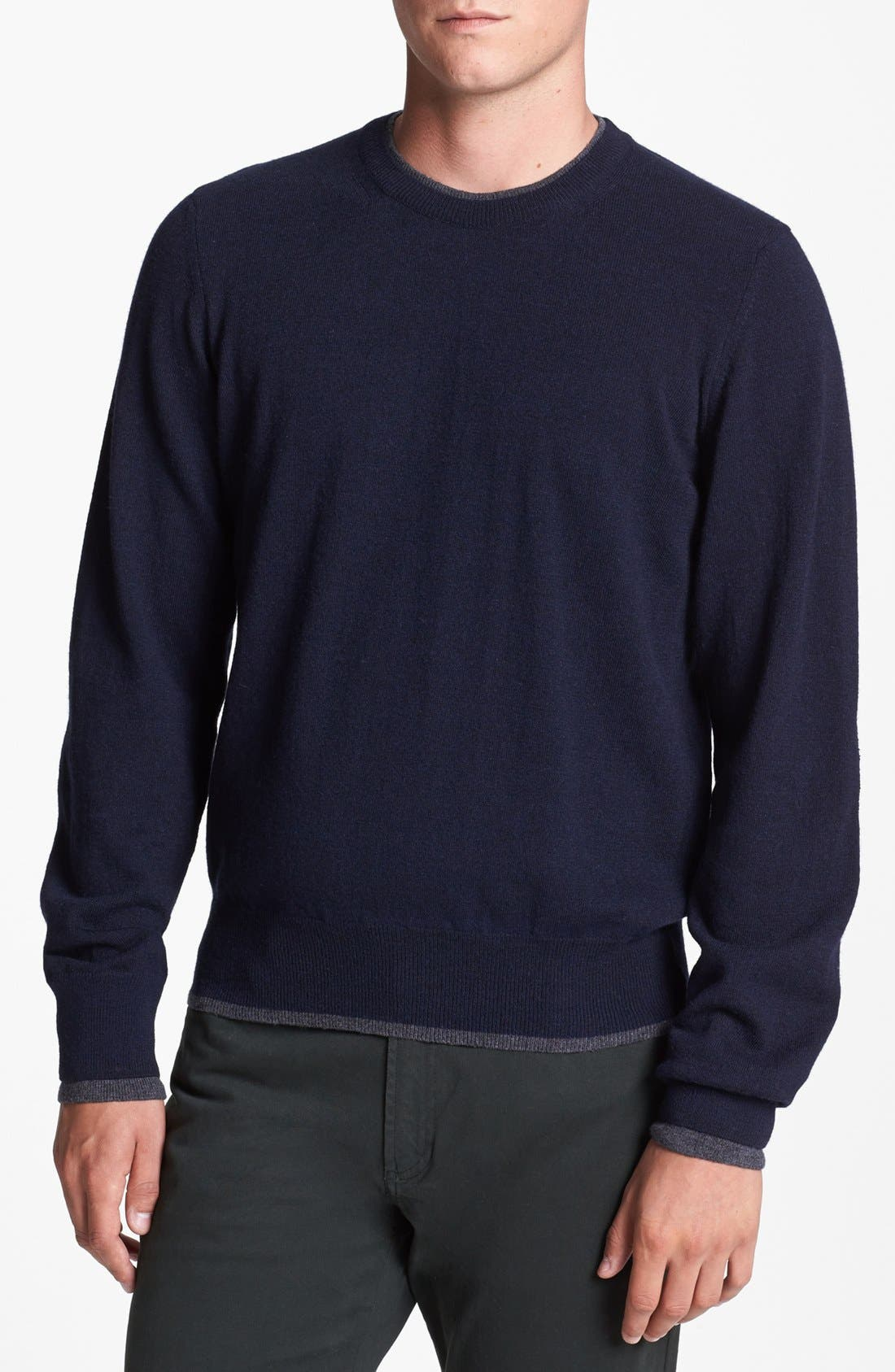 Alternate Image 1 Selected - Kent and Curwen 'Underwood' Modern Fit Sweater
