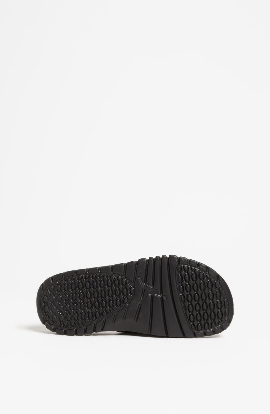 Alternate Image 4  - Nike 'Jordan Hydro II' Sandal (Big Kid)