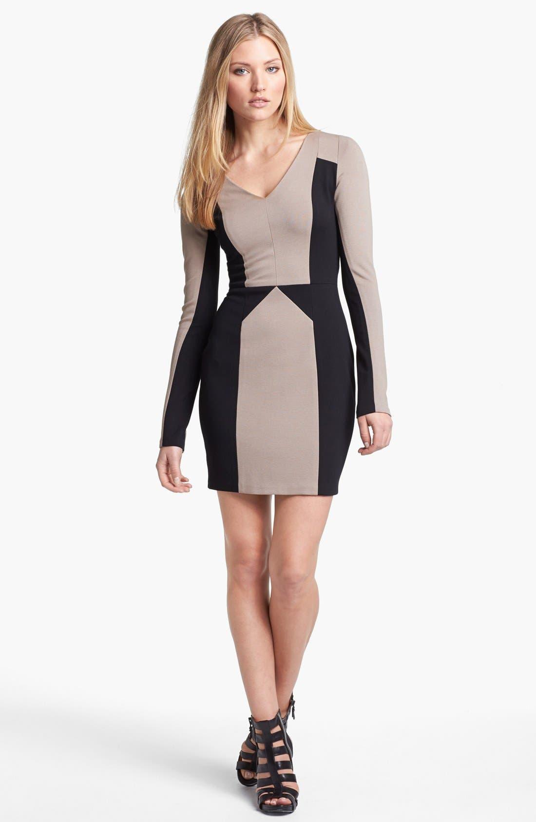 Alternate Image 1 Selected - Rebecca Minkoff 'Harriet' Stretch Body-Con Dress