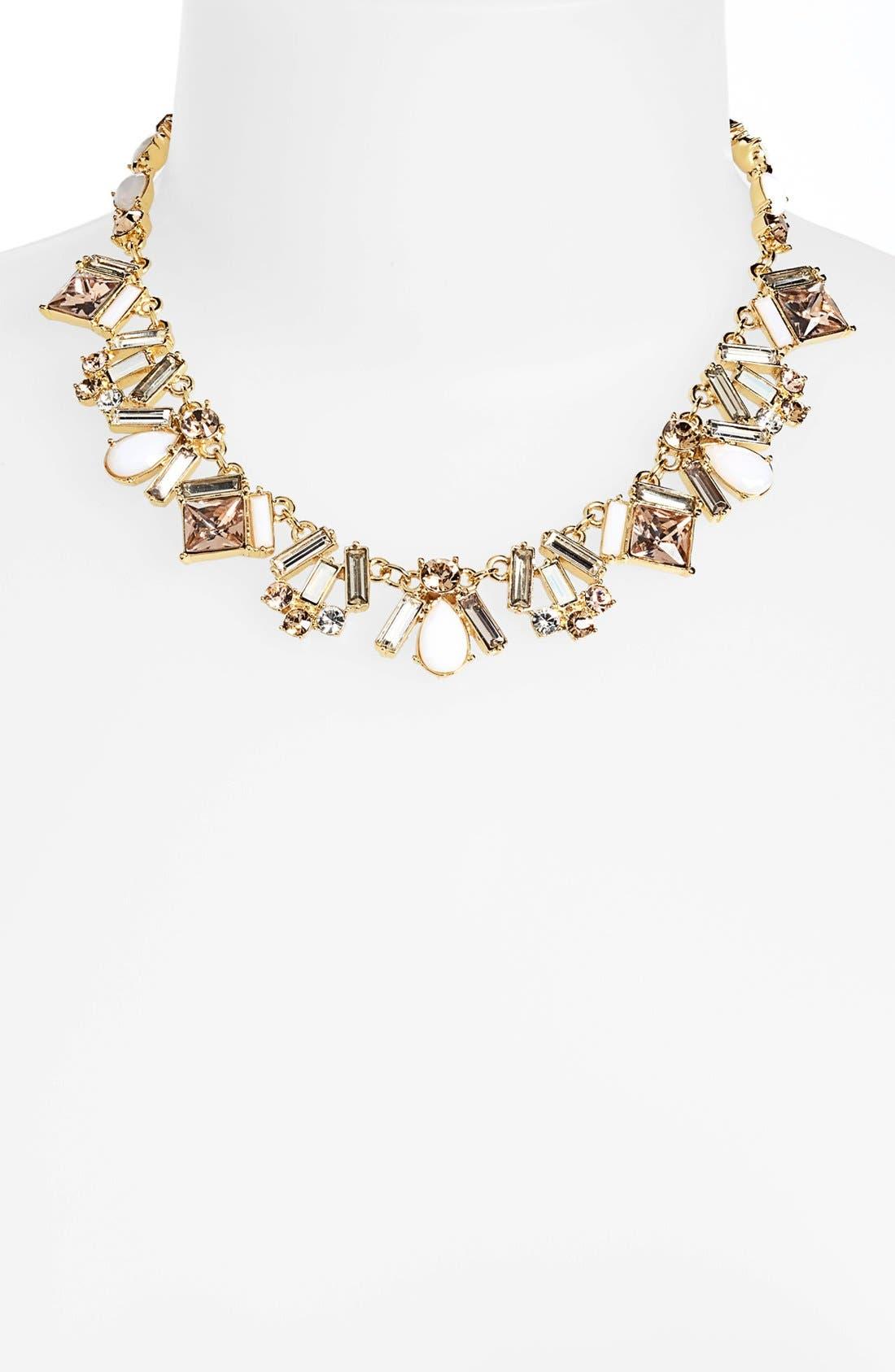 Main Image - kate spade new york 'baguette bridal' collar necklace