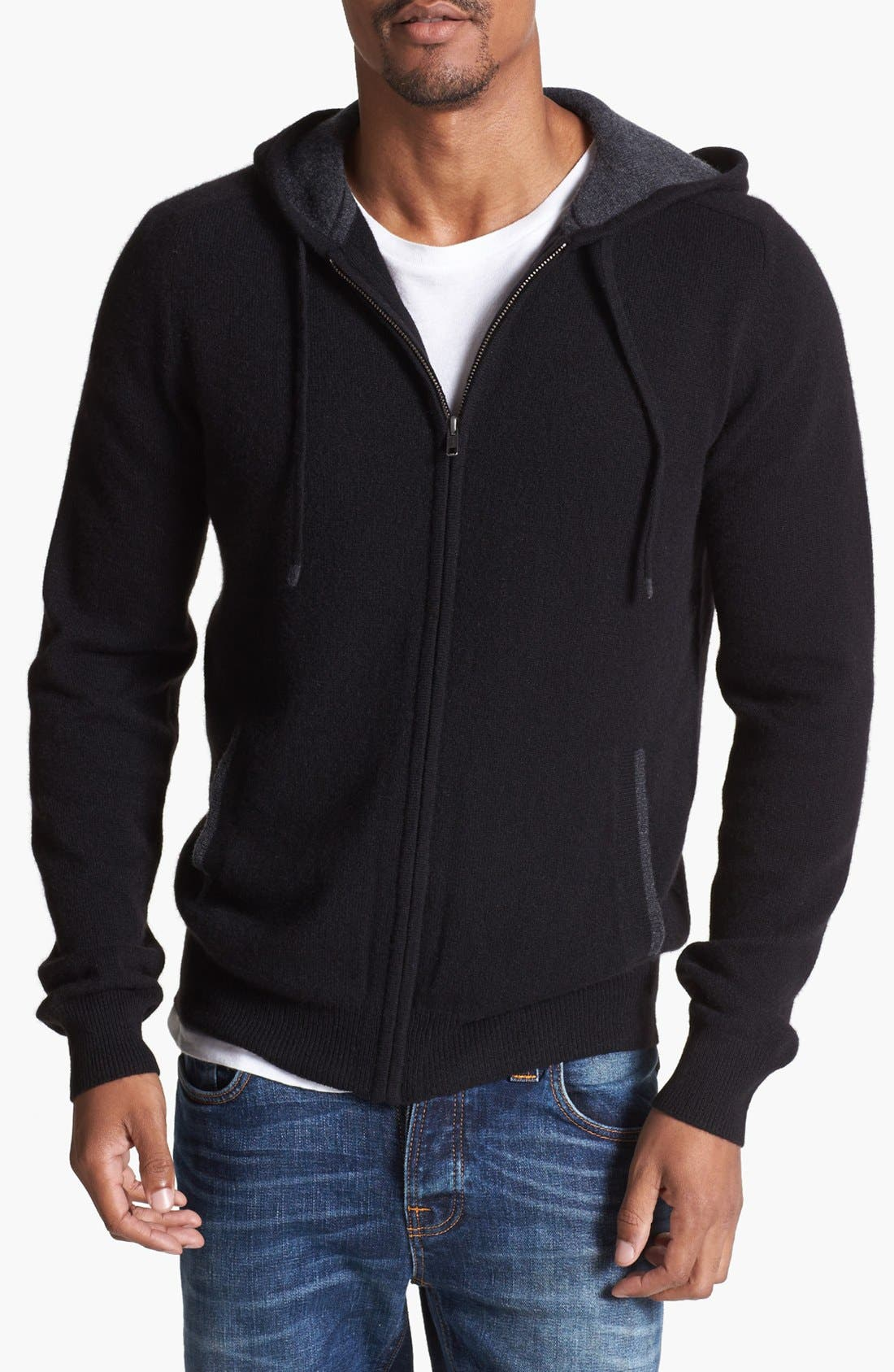 Alternate Image 1 Selected - 1901 Cashmere Hoodie