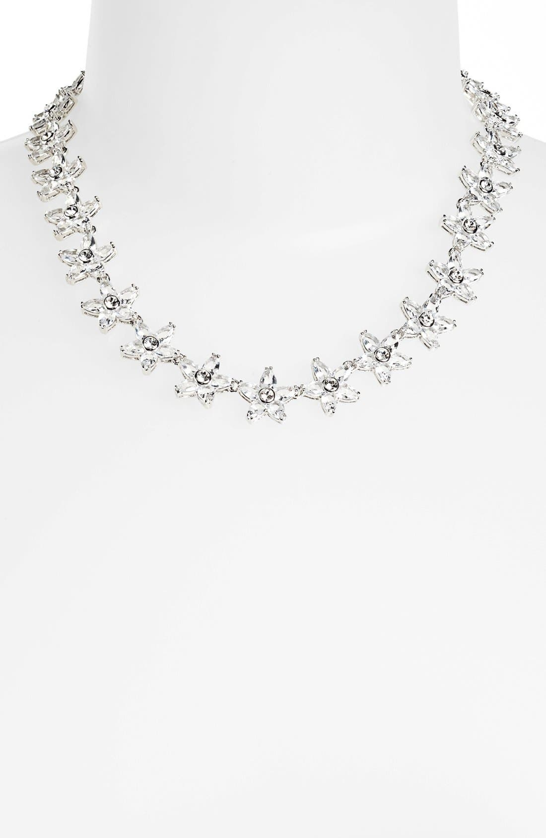 Alternate Image 1 Selected - kate spade new york 'toss the bouquet' necklace