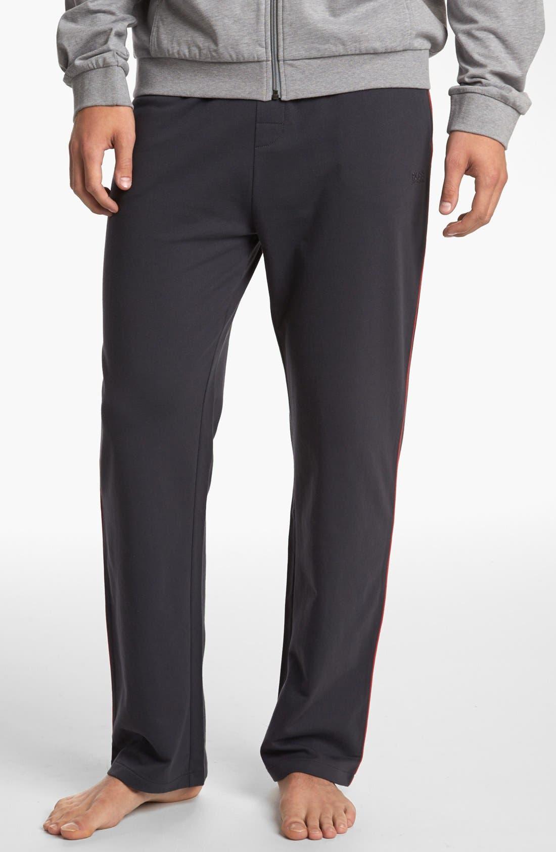 Main Image - BOSS HUGO BOSS Cotton Lounge Pants