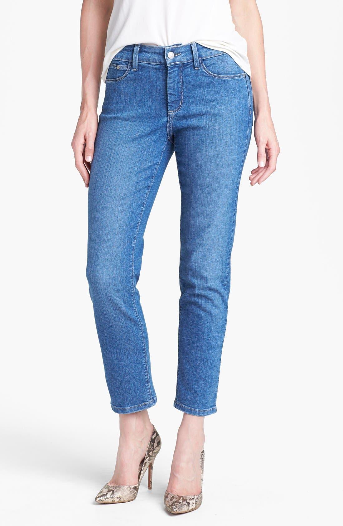 Main Image - NYDJ 'Alisha' Stretch Skinny Ankle Jeans