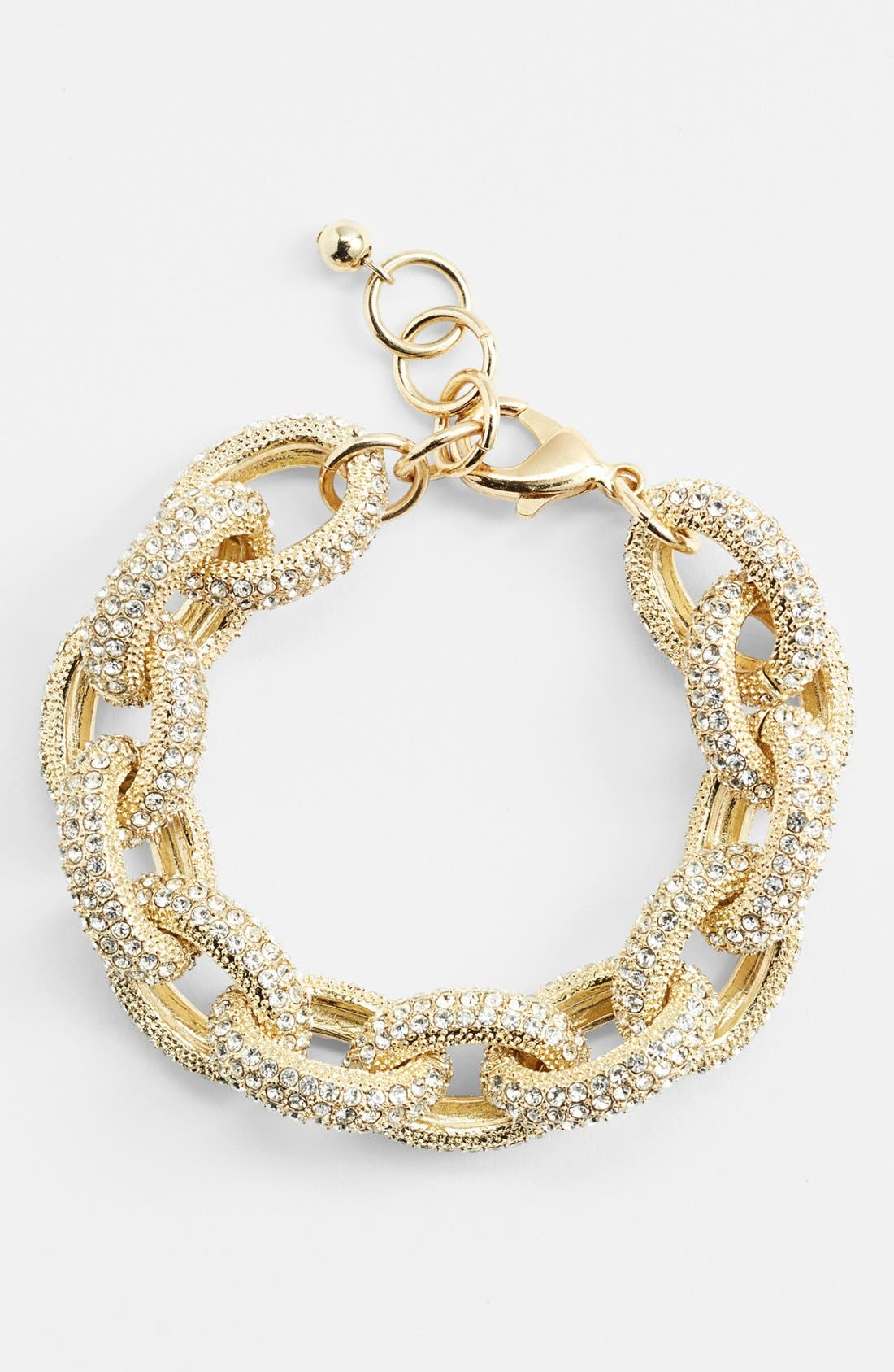 Alternate Image 1 Selected - Nordstrom Pavé Link Bracelet