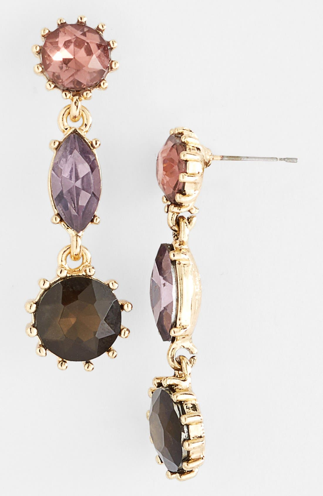 Alternate Image 1 Selected - Anne Klein Double Drop Earrings