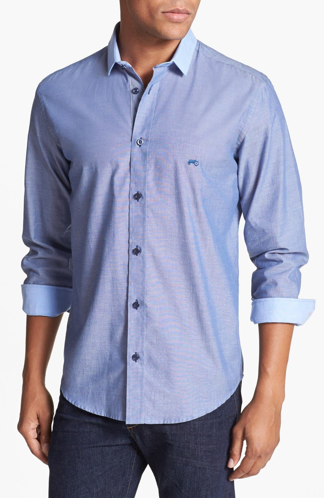 Alternate Image 1 Selected - Moods of Norway 'Arne Vik' Slim Fit Sport Shirt