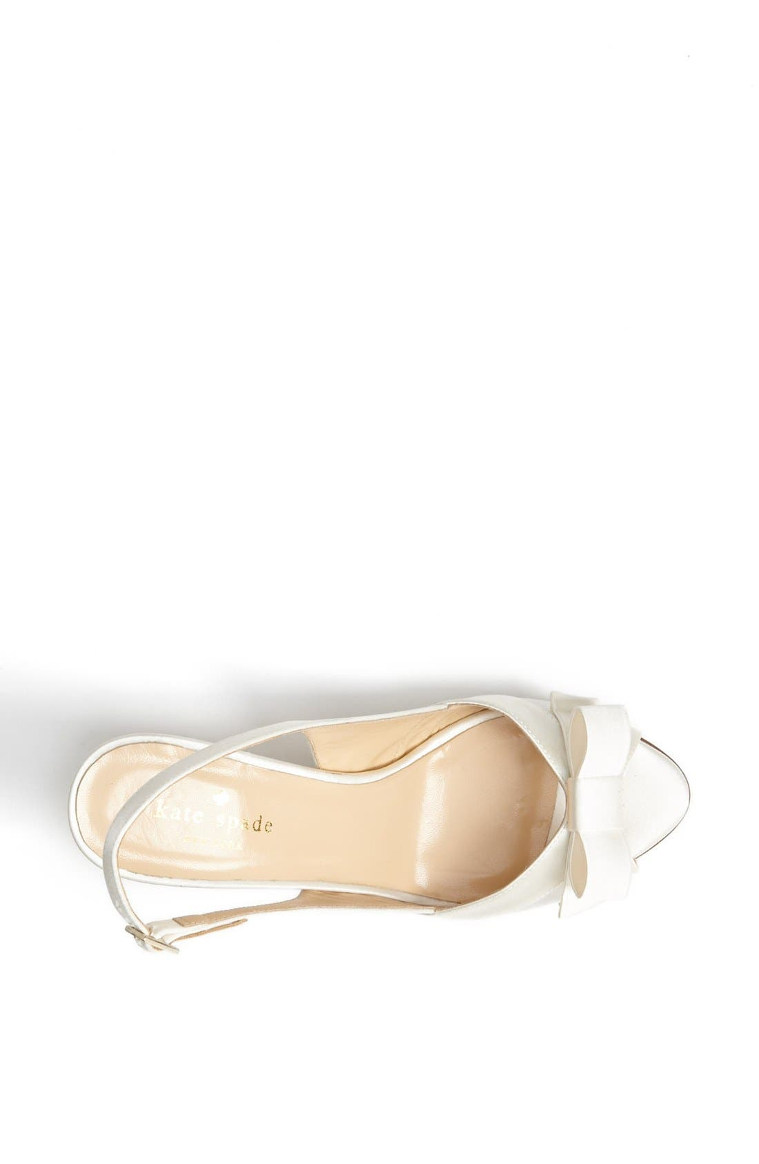 Alternate Image 3  - kate spade new york 'silver' slingback sandal