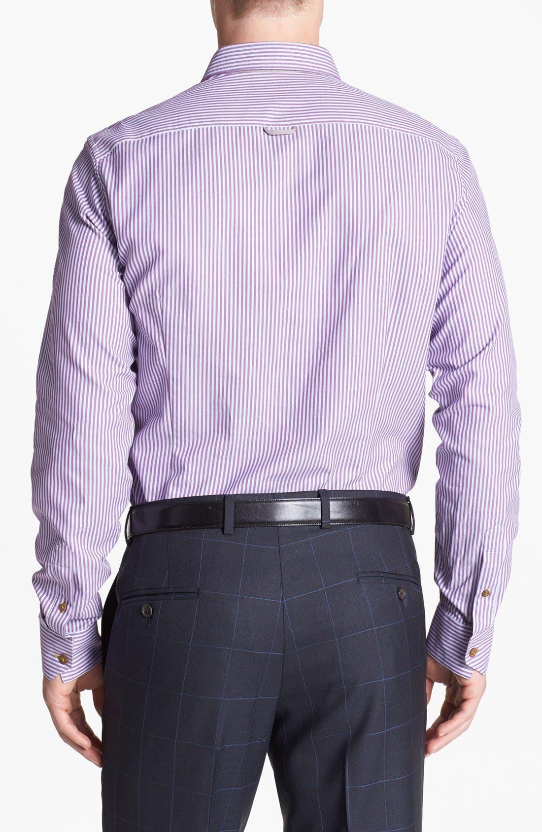 Alternate Image 2  - Ted Baker London 'Shauno' Trim Fit Sport Shirt