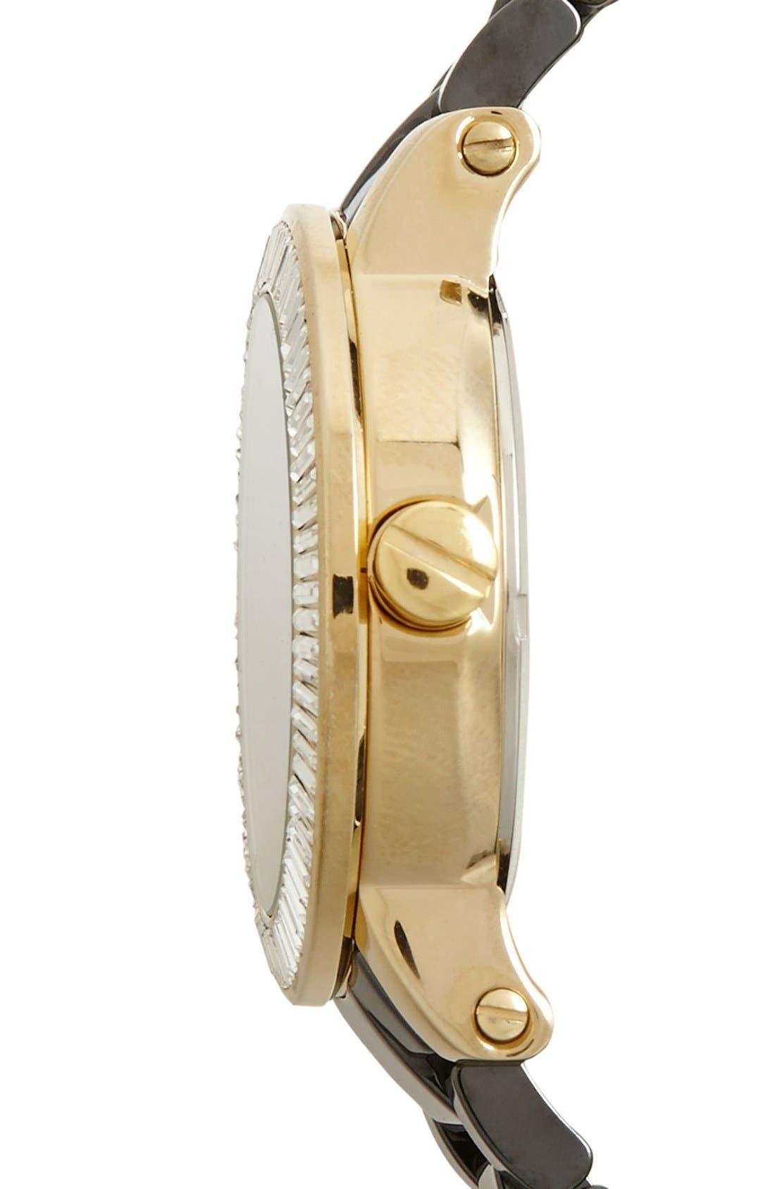 Alternate Image 3  - Vince Camuto Ceramic Bracelet Watch, 40mm