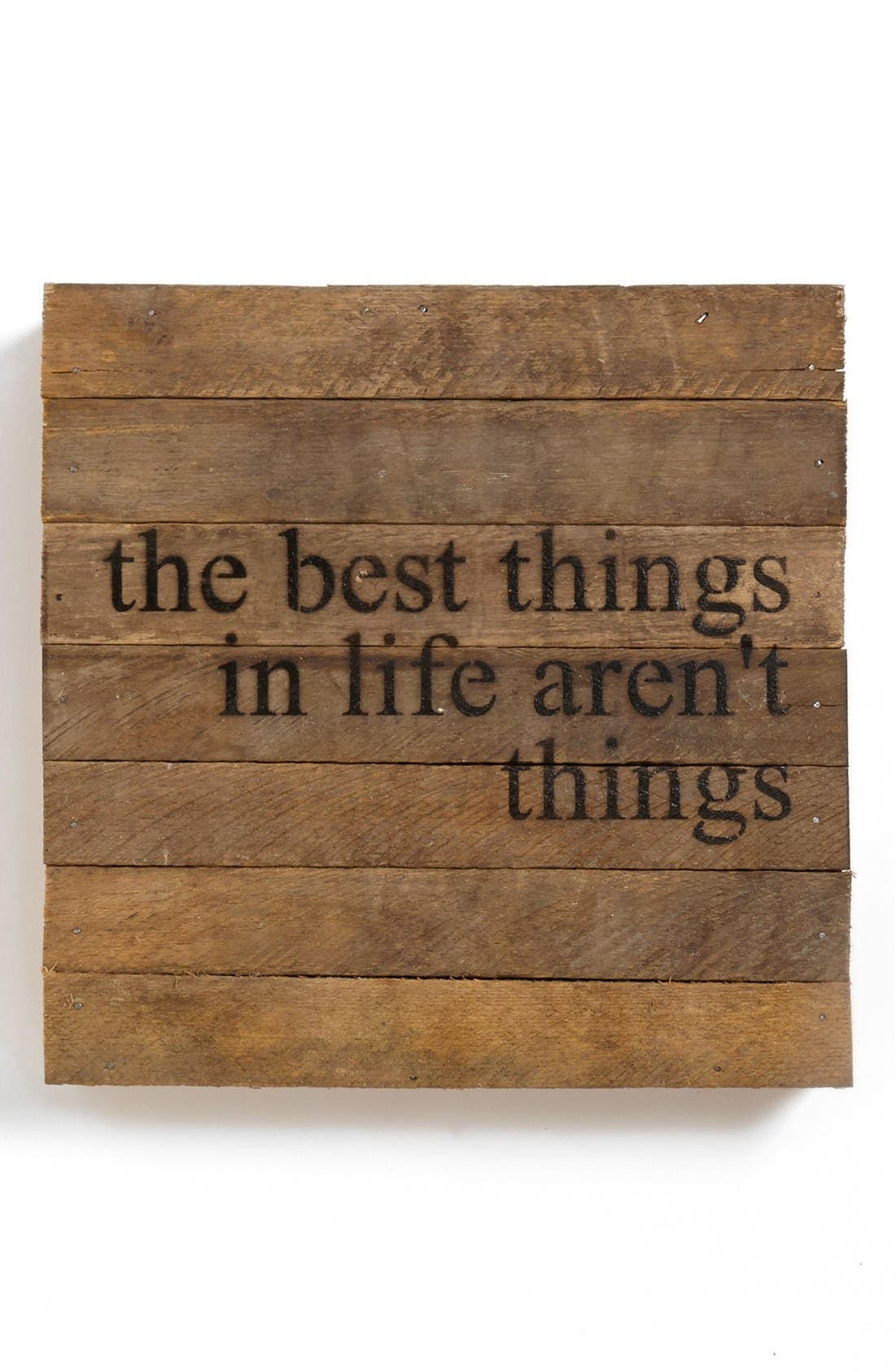 Alternate Image 1 Selected - 'The Best Things in Life' Wall Art