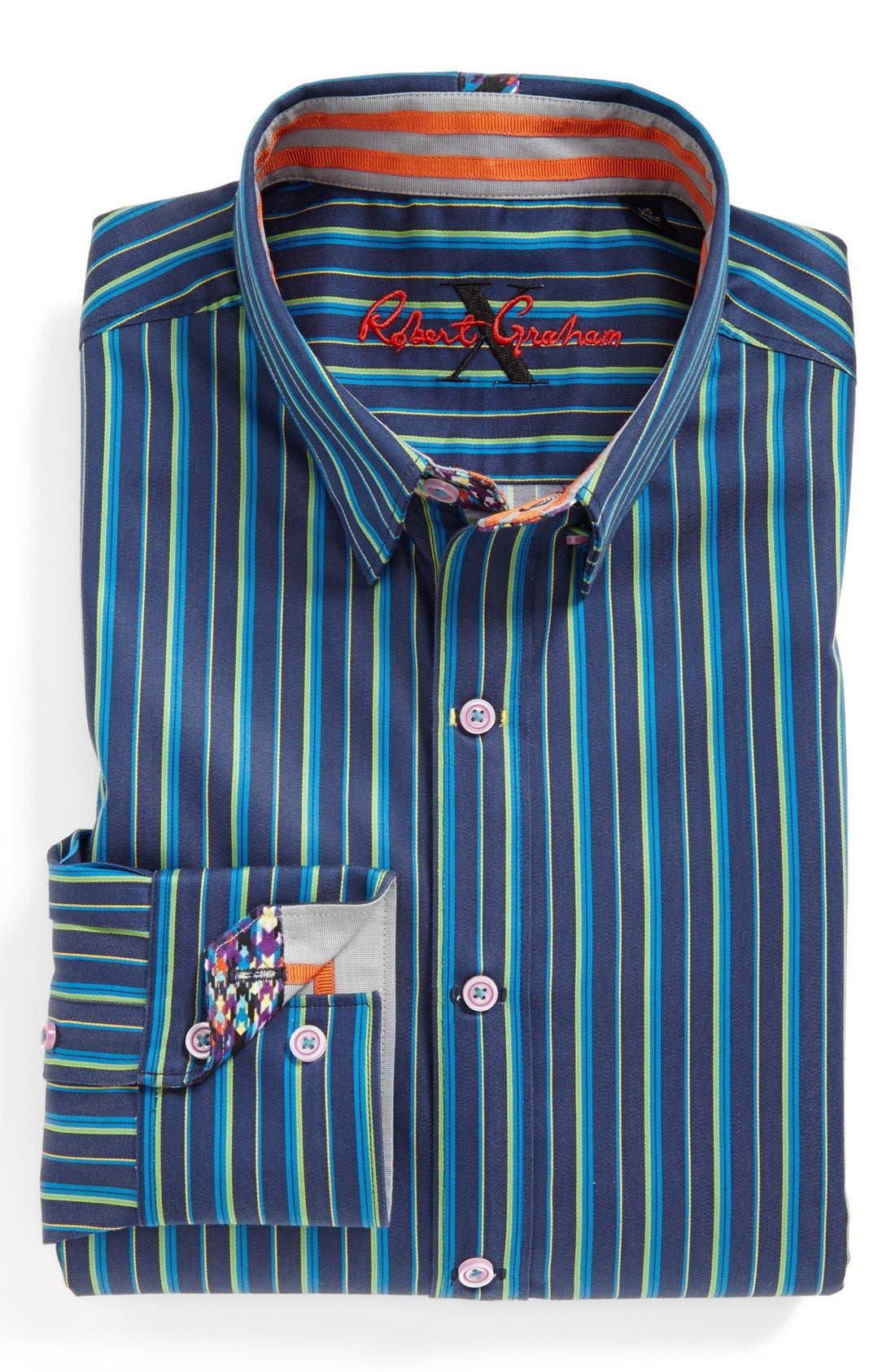 Alternate Image 2  - Robert Graham 'Skimmer' Tailored Fit Sport Shirt