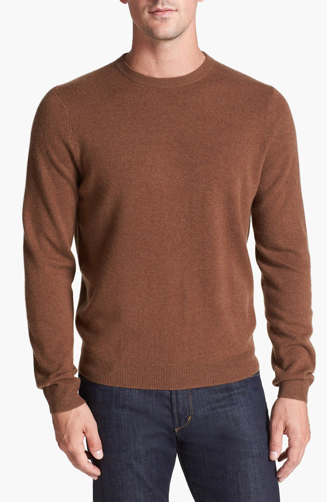 Alternate Image 1 Selected - Nordstrom Cashmere Crewneck Sweater