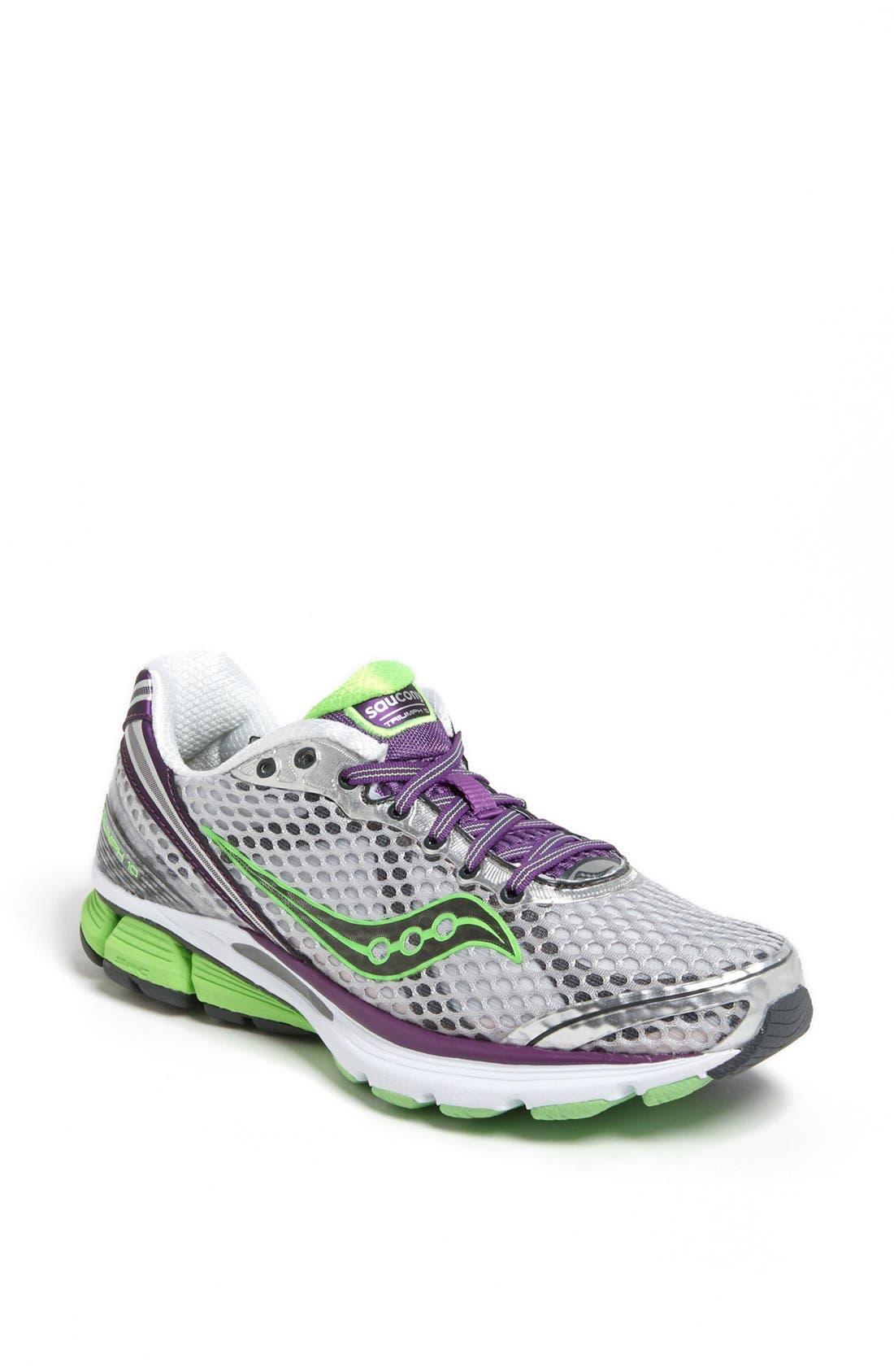 Main Image - Saucony 'PowerGrid Triumph 10' Running Shoe (Women)