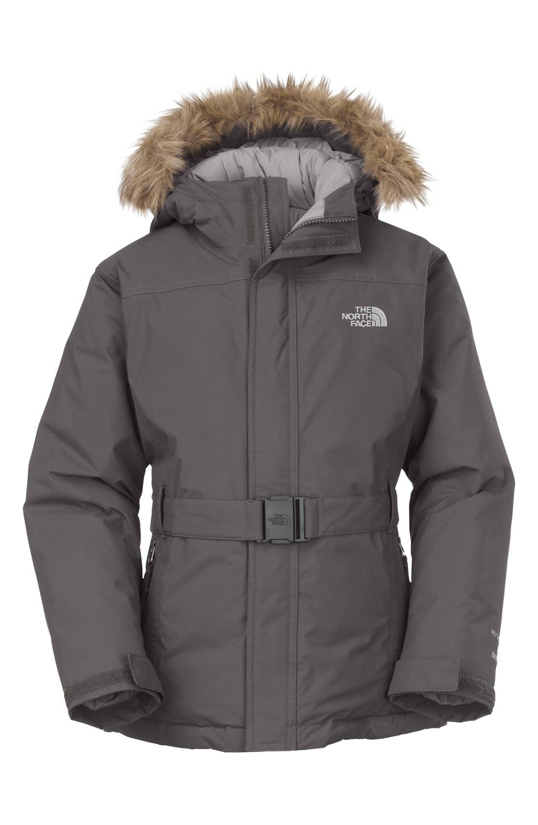 Alternate Image 1 Selected - The North Face 'Greenland' Jacket (Little Girls & Big Girls)