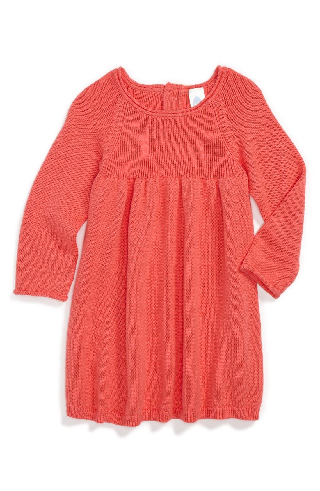 Alternate Image 1 Selected - Stem Baby Sweater Dress (Baby Girls)