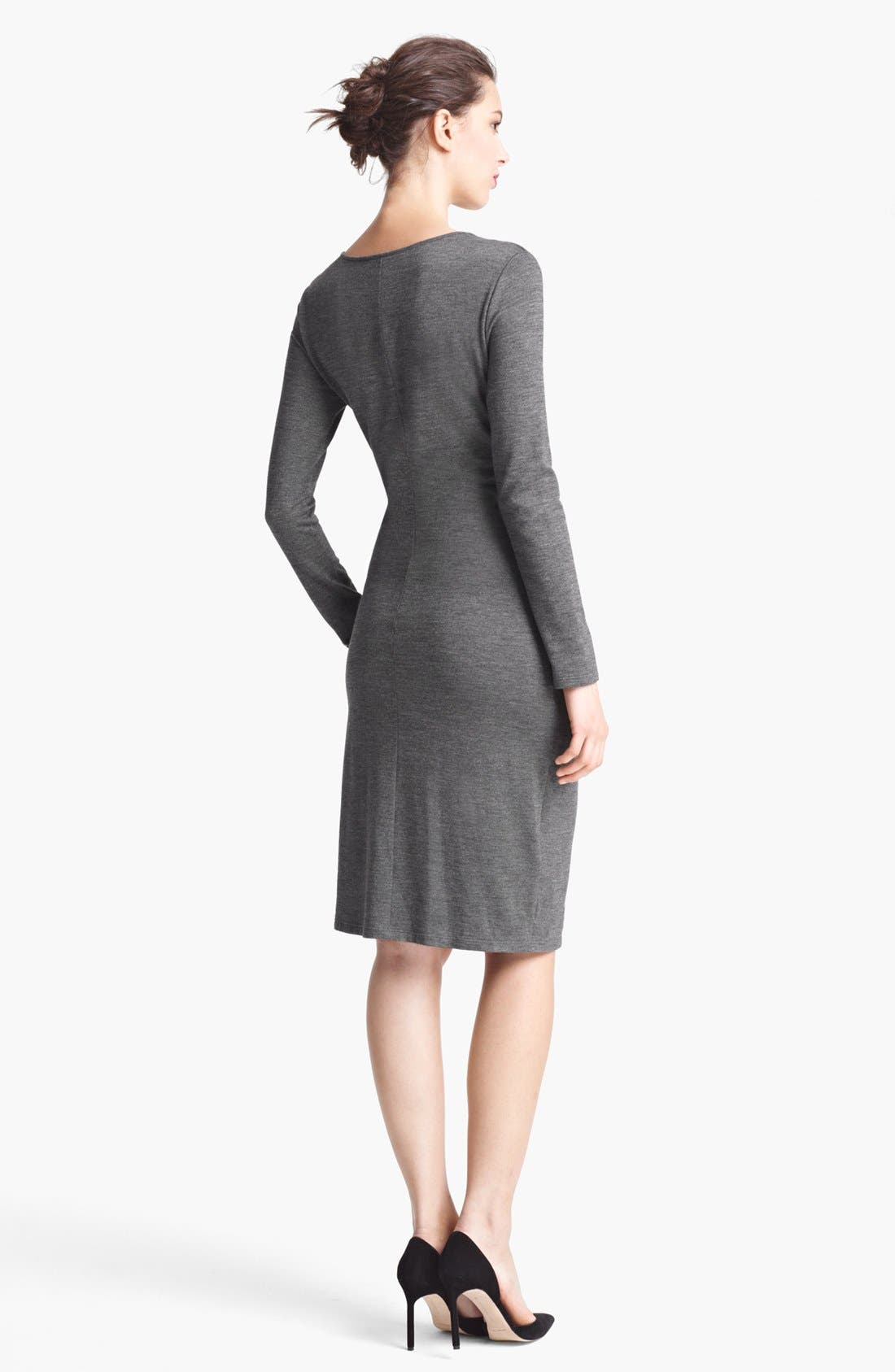 Alternate Image 3  - Max Mara Side Draped Jersey Dress
