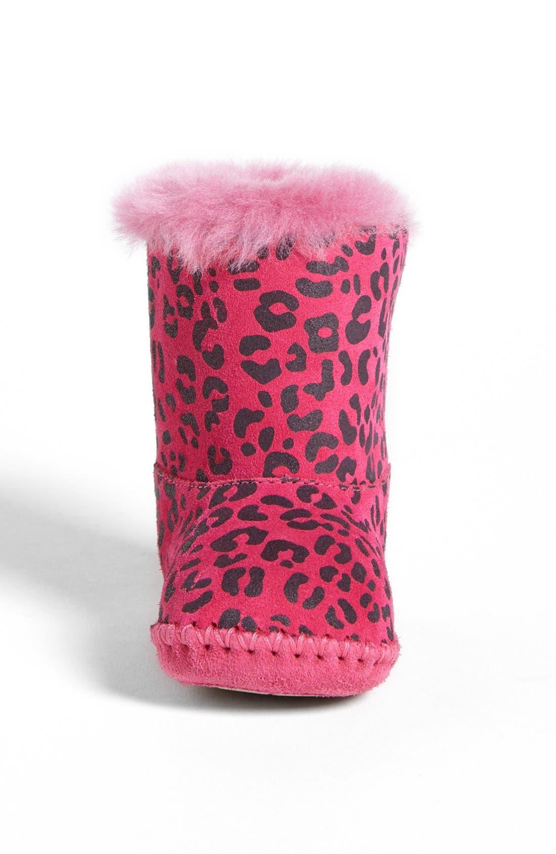 Alternate Image 3  - UGG® Australia 'Cassie' Leopard Print Boot (Baby & Walker)(Nordstrom Exclusive)