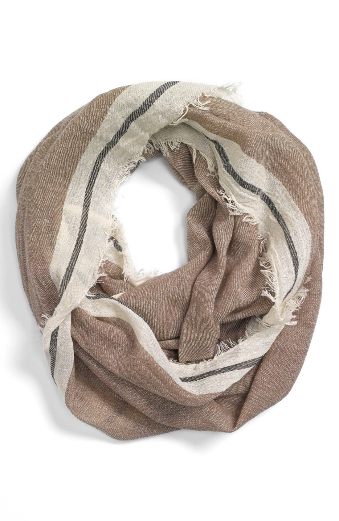 Alternate Image 1 Selected - Collection XIIX Fringed Scarf