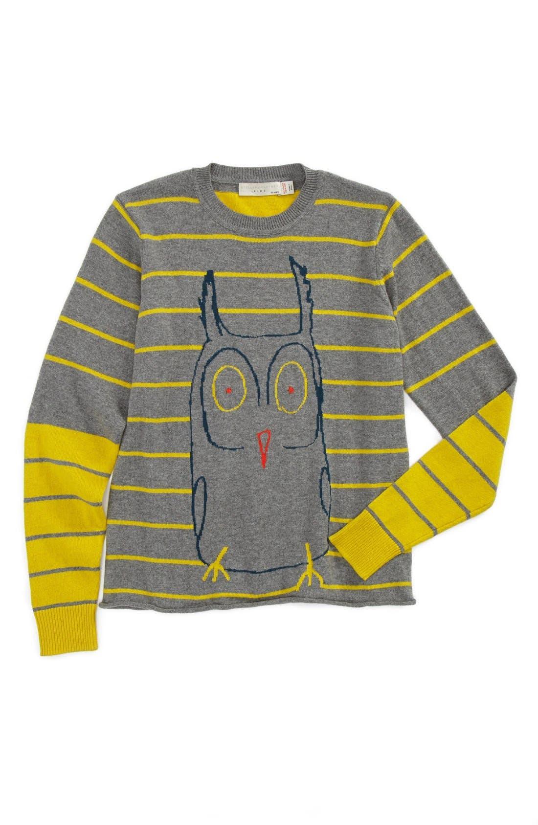 Alternate Image 1 Selected - Stella McCartney Kids 'Wiggins' Sweater (Little Girls & Big Girls)
