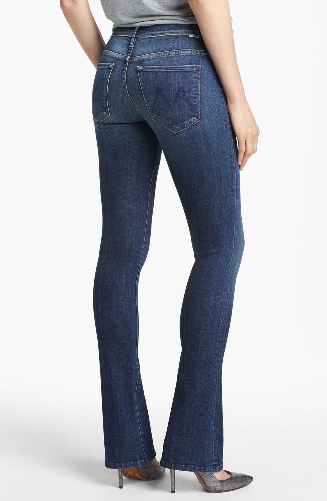 Alternate Image 2  - MOTHER 'The Daydreamer' Skinny Flare Leg Jeans (Tempted Again)