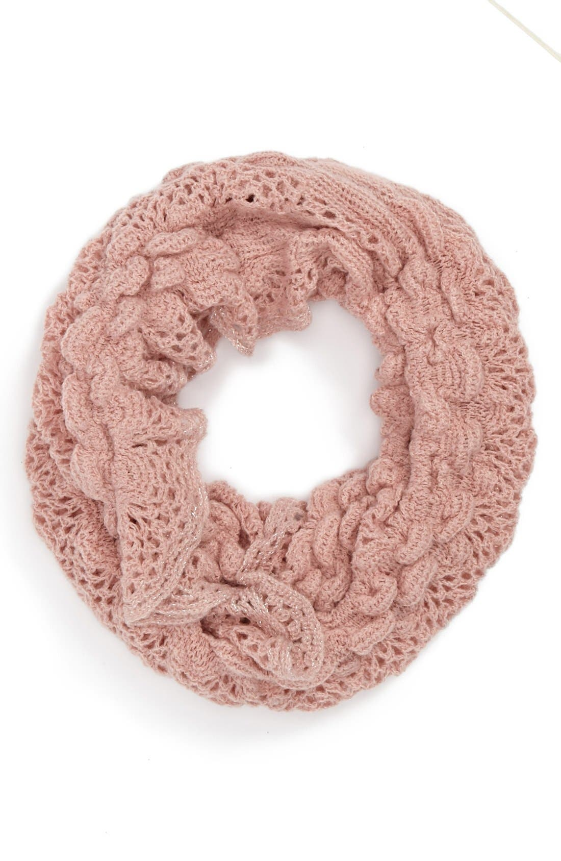 Main Image - Capelli of New York Infinity Scarf (Juniors) (Online Only)