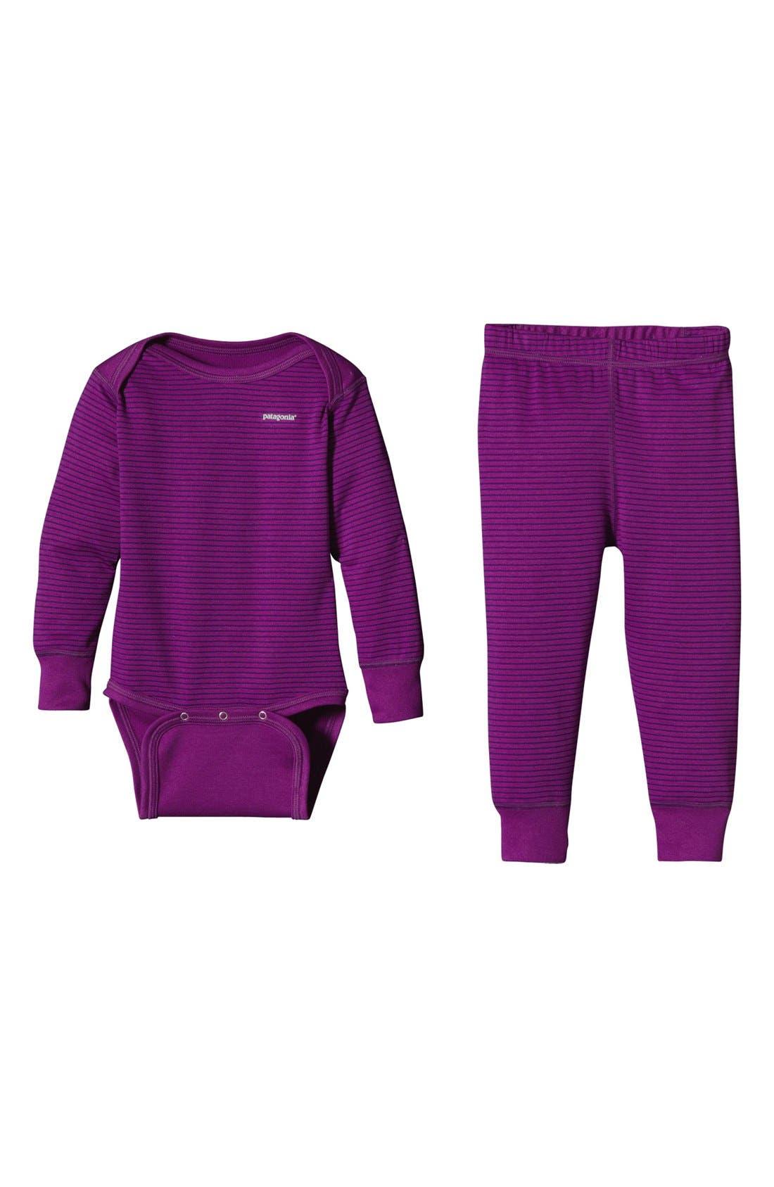 Alternate Image 1 Selected - Patagonia Bodysuit & Pants (Infant)
