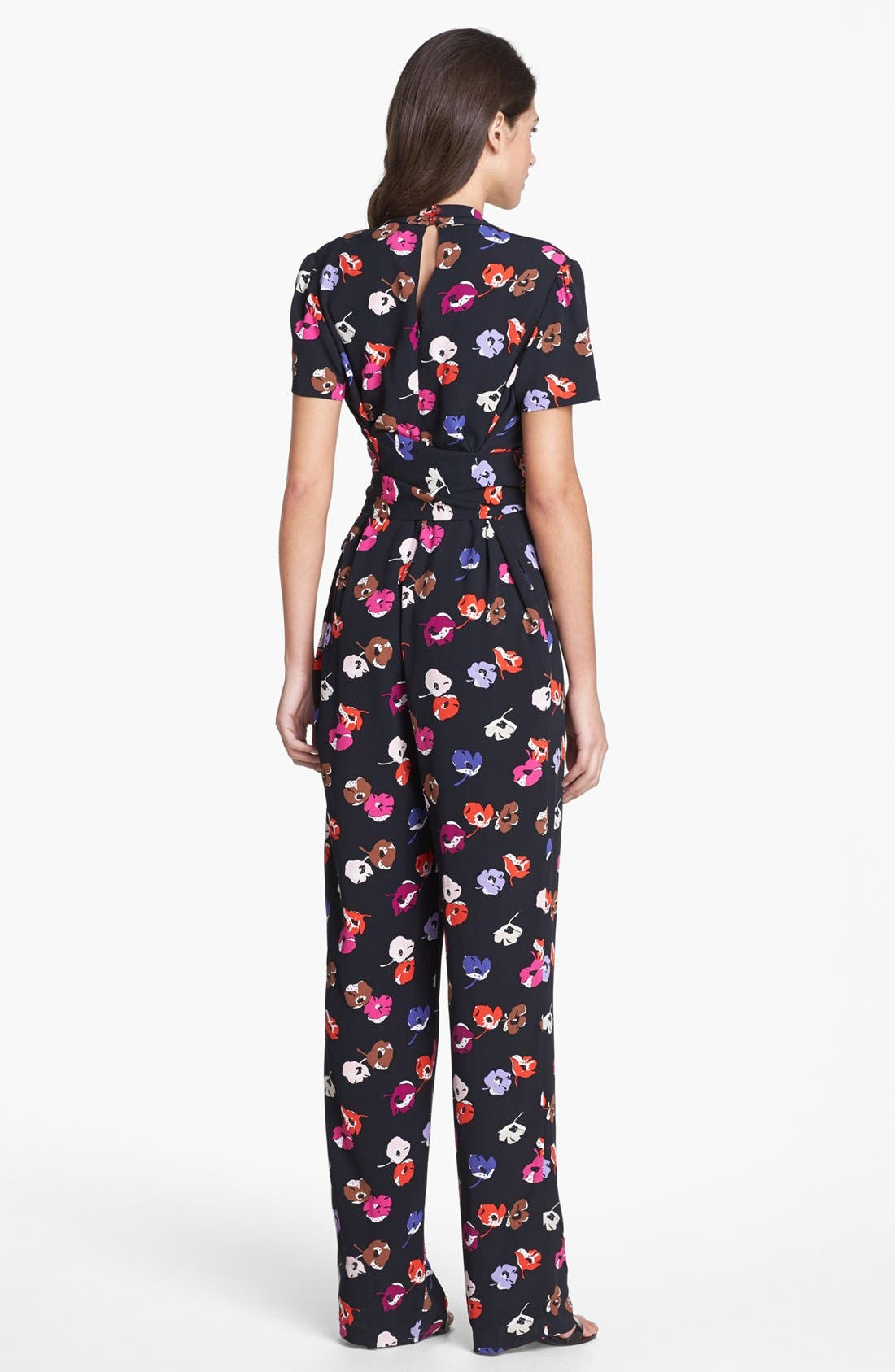 Alternate Image 2  - kate spade new york 'mahlia' print jumpsuit