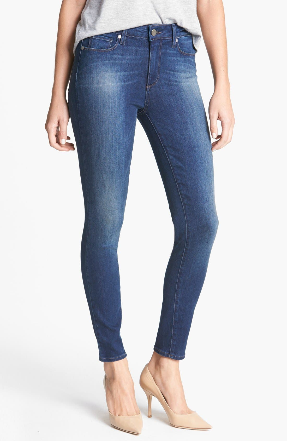 Alternate Image 1 Selected - Paige Denim 'Hoxton' Skinny Ankle Jeans (Zoe)