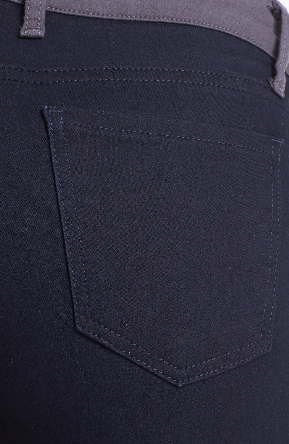 Alternate Image 3  - KUT from the Kloth Colorblock Skinny Jeans