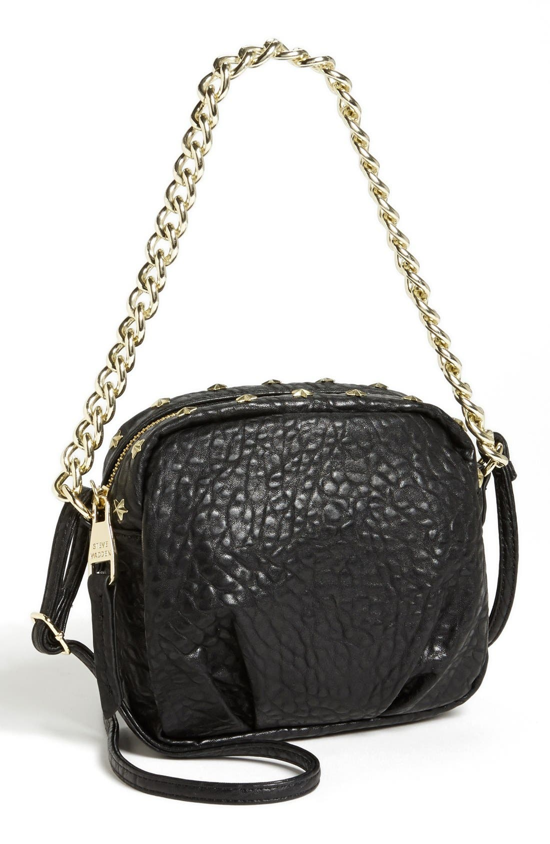 Alternate Image 1 Selected - Steve Madden Faux Leather Crossbody Bag