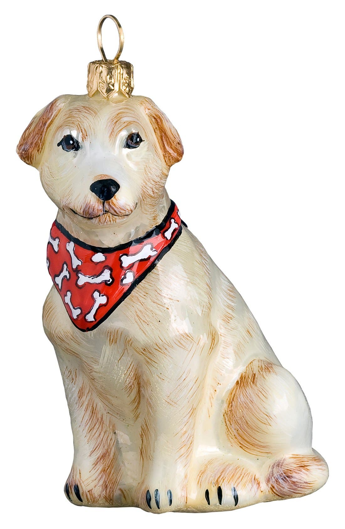 Alternate Image 1 Selected - Joy to the World Collectibles Yellow Lab Ornament
