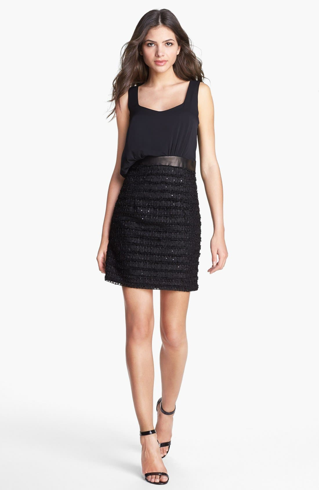 Main Image - Milly Asymmetrical Blouson Dress