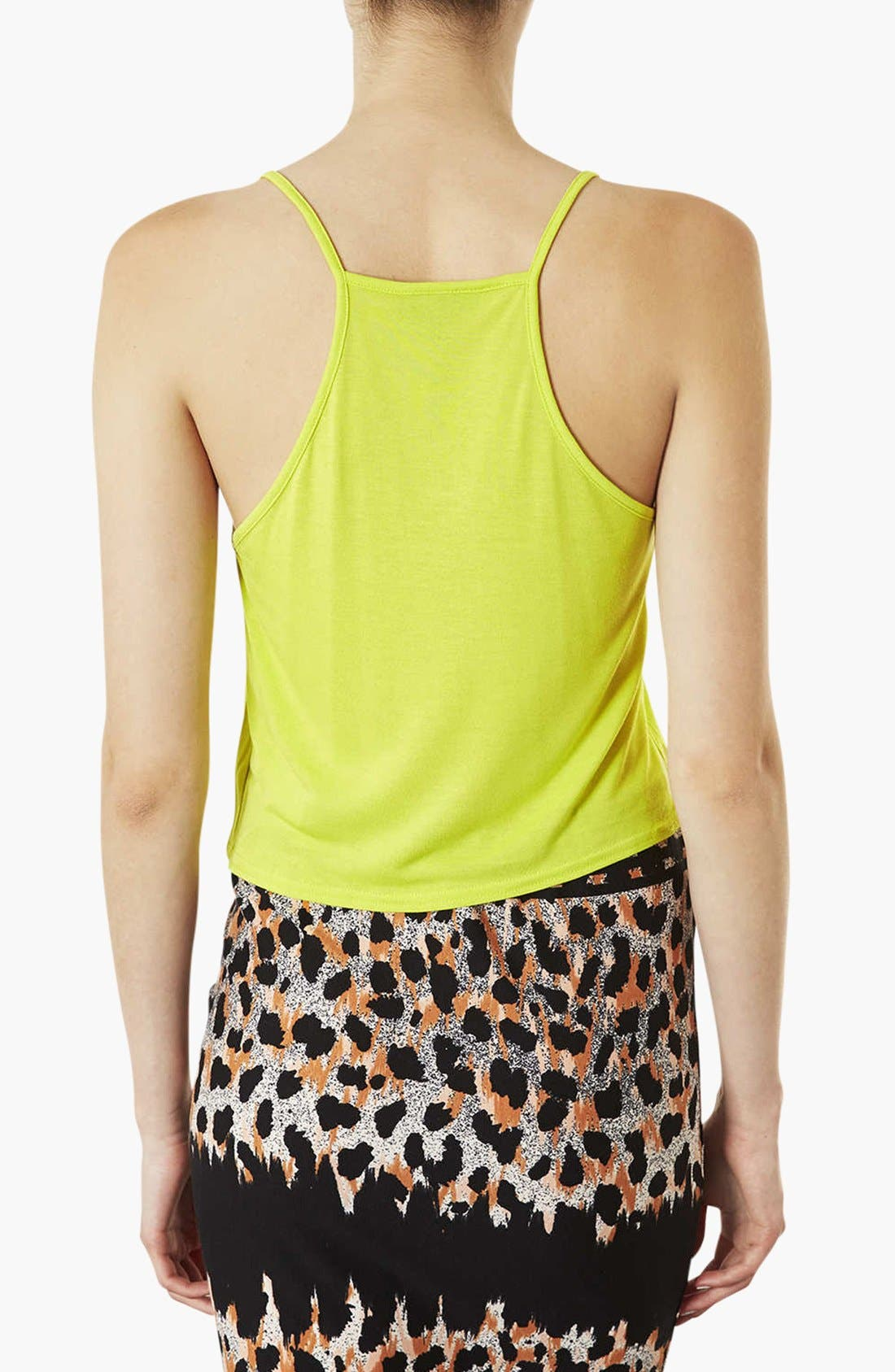 Alternate Image 2  - Topshop Crop Camisole