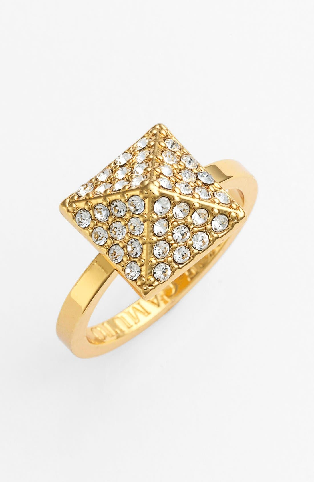 Alternate Image 1 Selected - Vince Camuto Pavé Pyramid Ring
