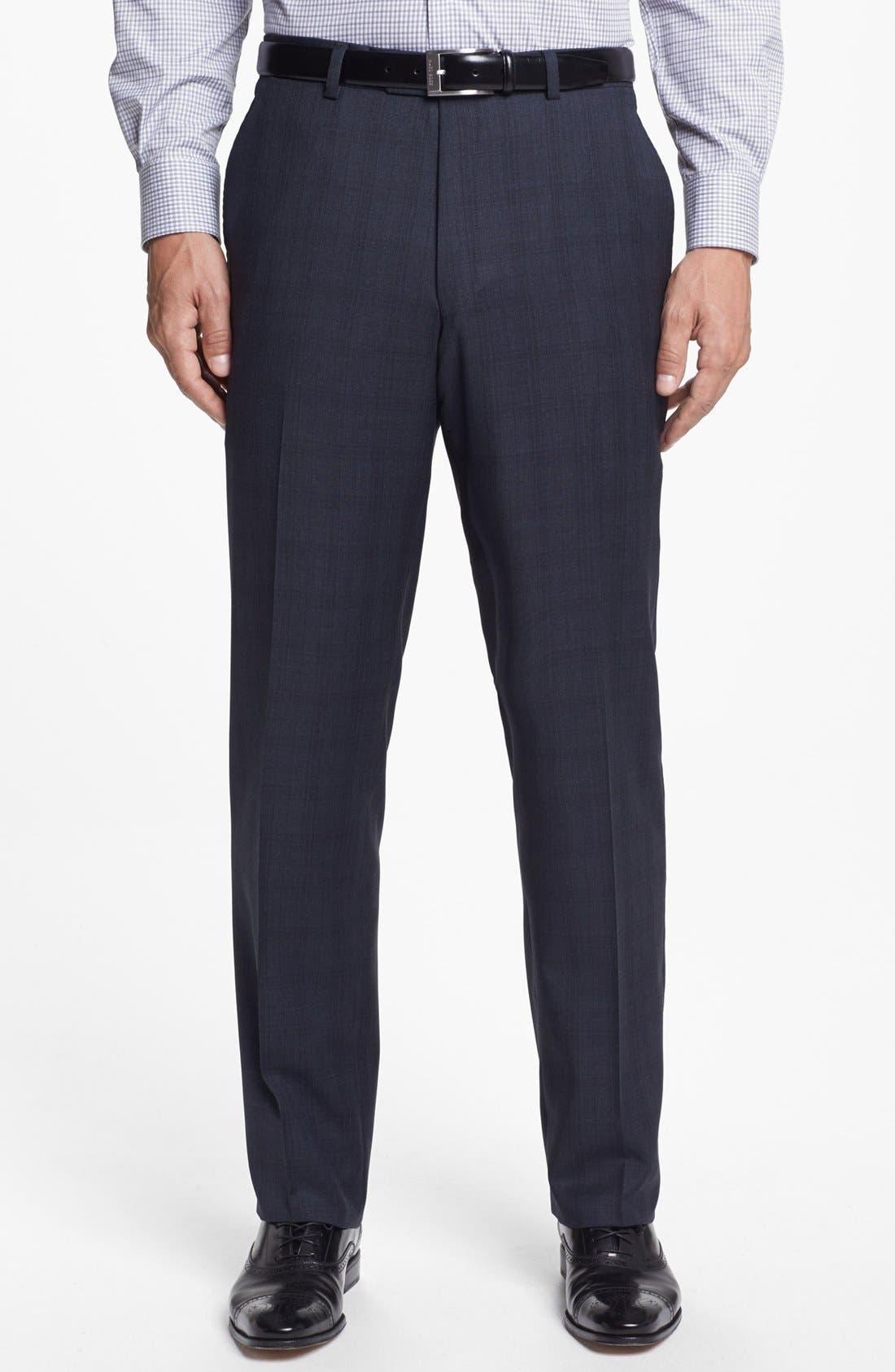 Alternate Image 5  - Hart Schaffner Marx Classic Fit Plaid Suit