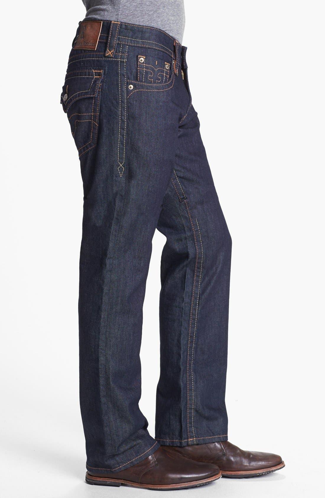 Alternate Image 3  - Rock Revival 'Blane' Straight Leg Jeans