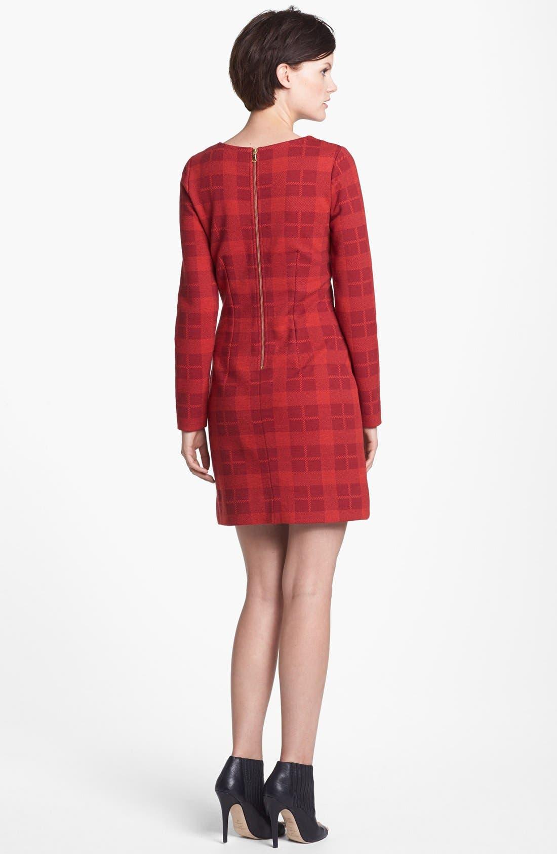 Alternate Image 2  - MARC BY MARC JACOBS 'Maya' Plaid Wool Blend Sheath Dress