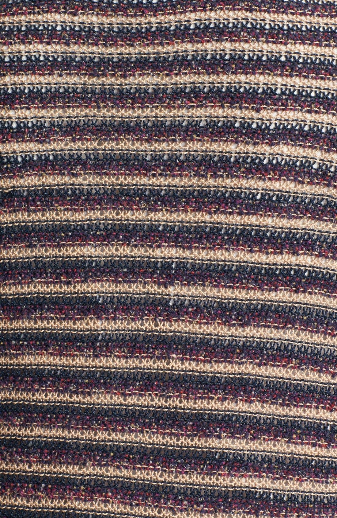 Alternate Image 3  - Lucky Brand Stripe Cardigan (Plus Size)