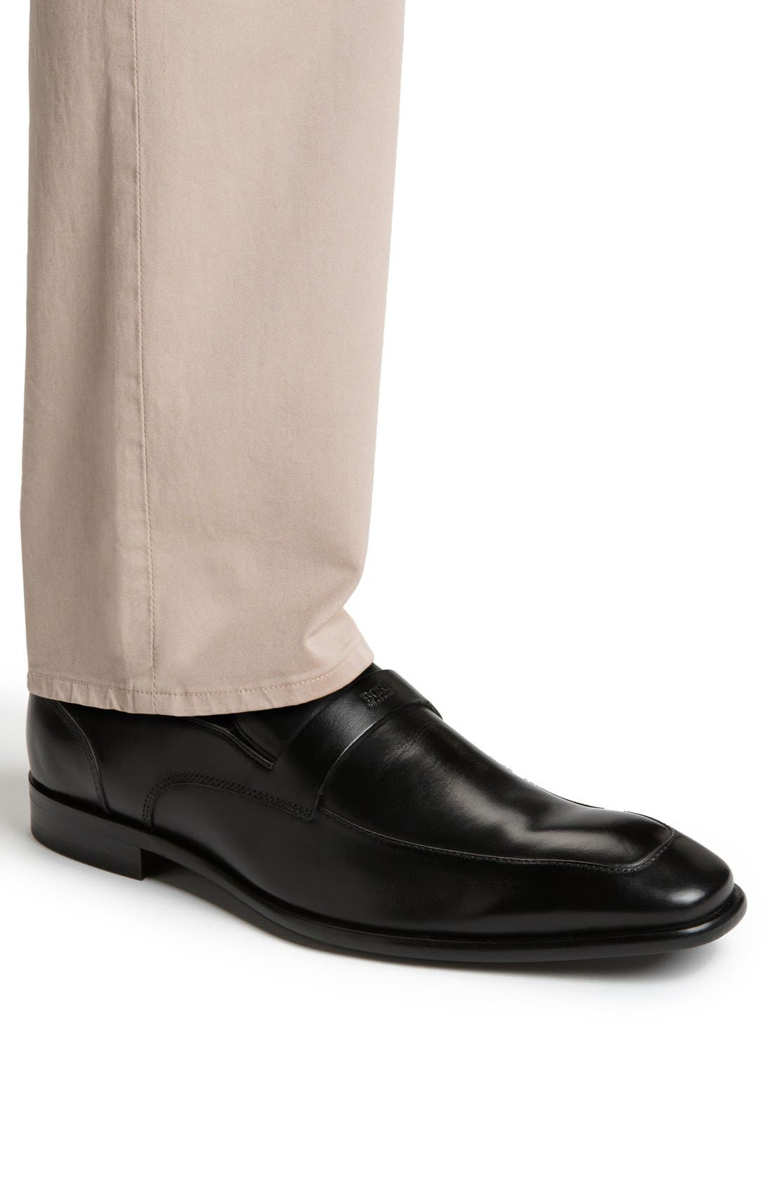 Alternate Image 6  - BOSS HUGO BOSS 'Metero' Loafer (Men)