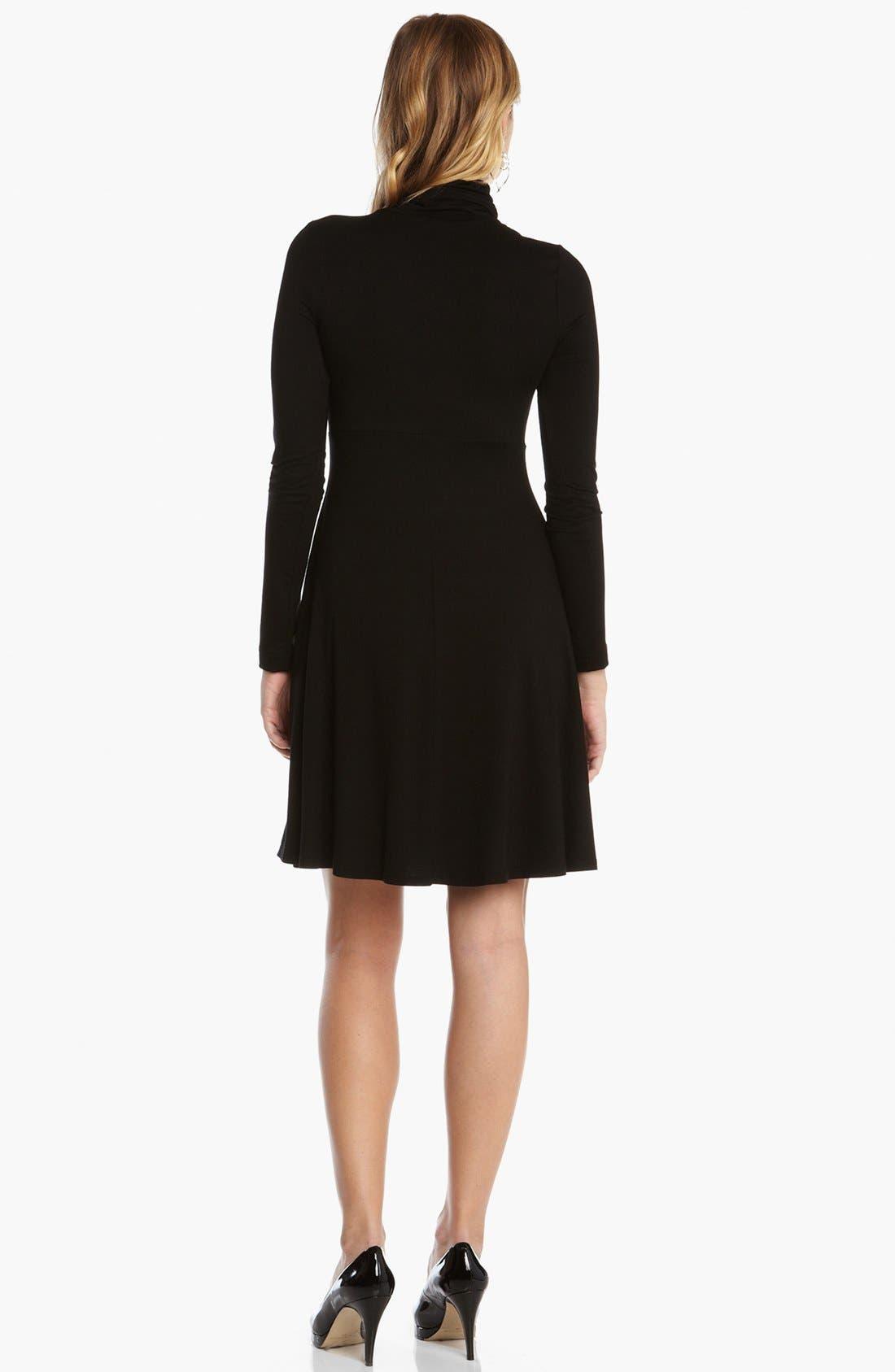 Alternate Image 2  - Karen Kane Turtleneck Dress