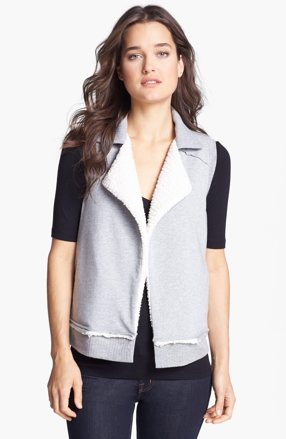 Alternate Image 1 Selected - Splendid 'Bowery' Reversible Vest