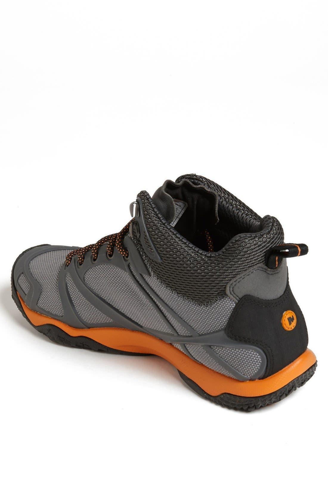 Alternate Image 2  - Merrell 'Proterra Mid Sport' Waterproof Hiking Boot (Men)