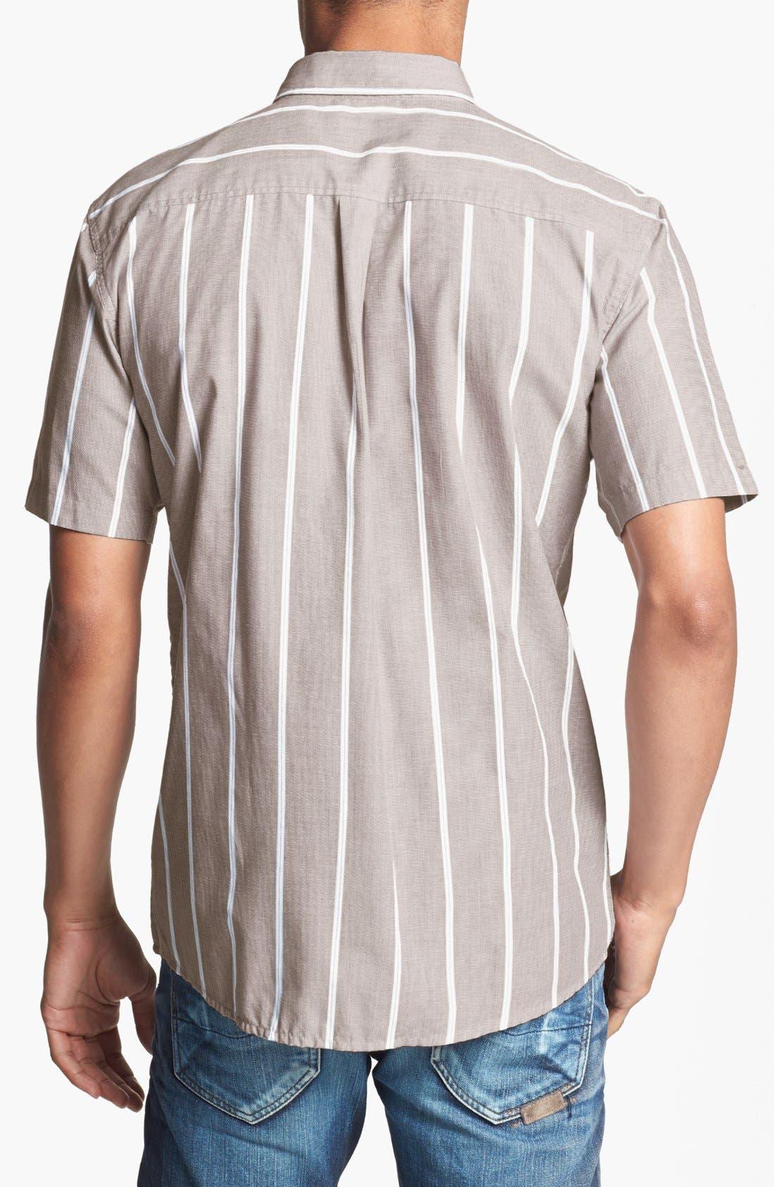 Alternate Image 2  - Brixton 'Baylor' Stripe Oxford Shirt