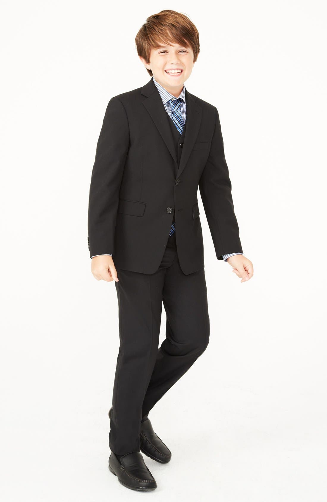 Alternate Image 1 Selected - Joseph Abboud Blazer, Dress Shirt & Dress Pants (Little Boys & Big Boys)